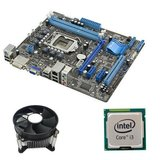 Kit Placa de Baza Refurbished ASUS P8H61-M LE, Intel i3-2100, Cooler
